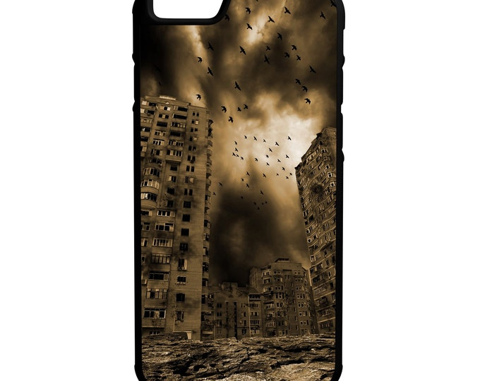 Dead City iPhone Galaxy Note LG HTC Hybrid Rubber Protective Case