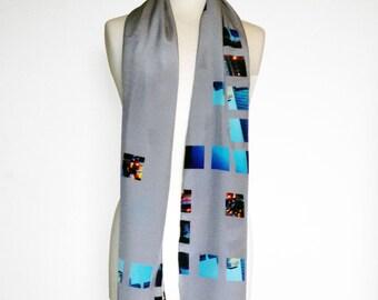 Handmade Digitally printed scarf