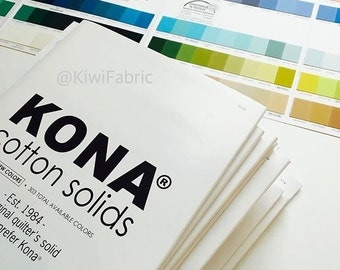 Kona Cotton Color Card - Robert Kaufman (K001C-714)