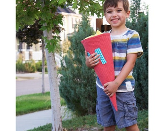 Custom Schultüte/ Skolepose/ School Cone/ First Day of School Bag