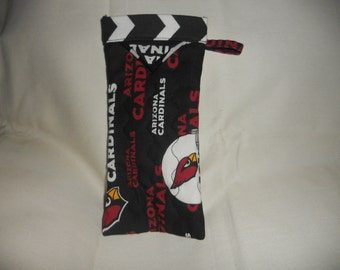 Arizona Cardinals -  Reading Glasses Case - Quilted Fully Lined