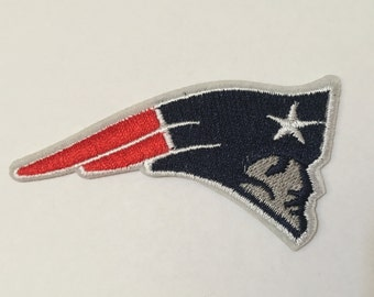Football Sport Team Logo Patriots Iron On Patch
