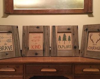 Set of Four 8x10 Frames