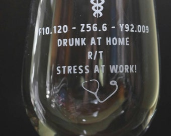 New Orleans Saints Wine Glass Nola Football Glass by 1325Gifts