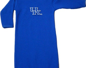 Kentucky Wildcat Baby Layette Gown