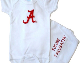 Alabama Crimson Tide Future Tailgater Baby Bodysuit