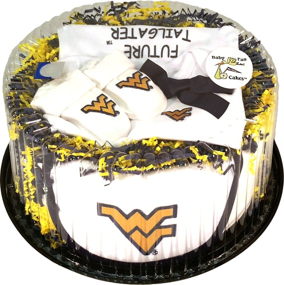 West Virginia Mountaineers Baby Clothing Gift Set