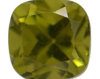 Italian Idocrase Cushion Cut Loose Gemstone 1A Quality 5mm TGW 0.55 cts.