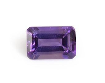 Uruguayan Amethyst Octagon Cut Loose Gemstone 1A Quality 6x4mm TGW 0.45 cts.