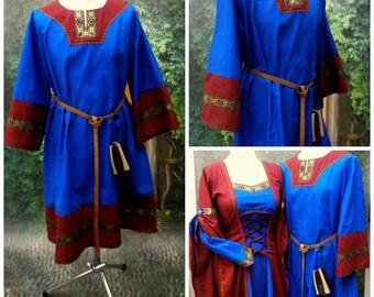 Medieval Tunic, Cotton Tunic for Men, Viking, LARP, Handfasting Garb