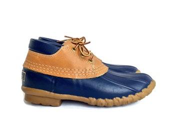 30% Flash Sale Vintage LL Bean Duck Shoe Boot Maine Hunting Shoe size 6