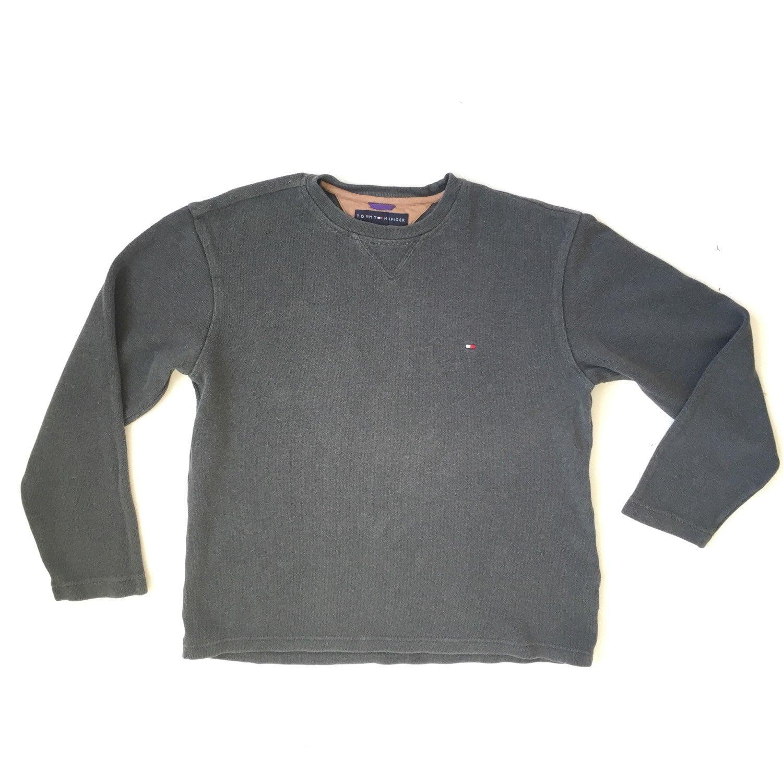 90 39 s tommy hilfiger sweatshirt pullover. Black Bedroom Furniture Sets. Home Design Ideas
