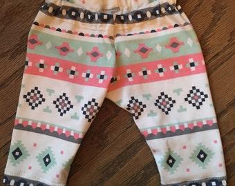 Aztec baby/toddler leggings