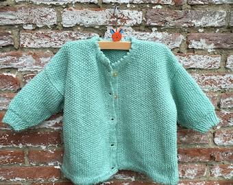 Vintage sea green vest