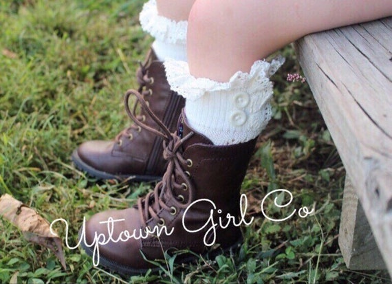 Kids Boot Cuffs, Girls Boot Socks, Kids Boot Socks, Boot Socks, Childs Boot Cuffs, Boot Socks Girls, Baby Leg Warmers, Lace Leg Warmers