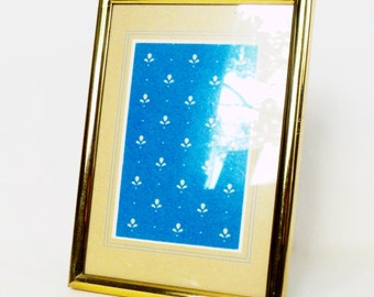 1980s Standing Brass Frame