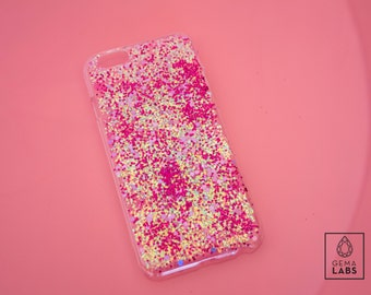 Glitter pink case for iphone6