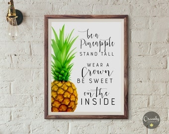 Pineapple Quote Etsy