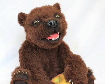 OOAK Teddy Bear Choco by True Bears