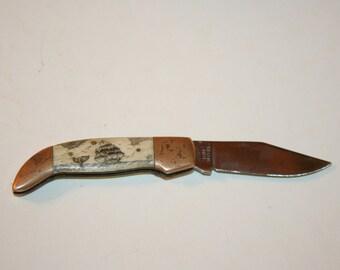 Vintage Bone Hawaii Frost Cutlery Pocket Knife