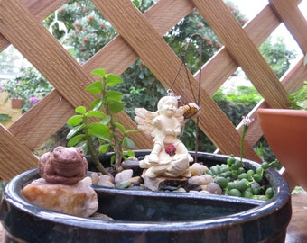 Angel in The Garden of Faith