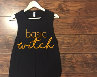 Basic Witch Muscle Tank