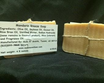 Mandarin Breeze Soap