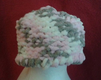Neopolitan baby knitted hat