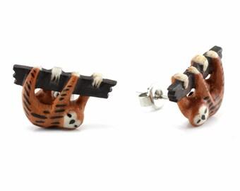 Pair of Sloth Stud Earrings