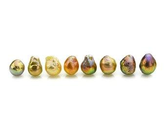 Metallic Freshwater Loose Pearls (#101)
