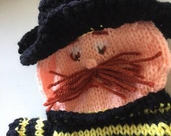 Firefighter hand puppet