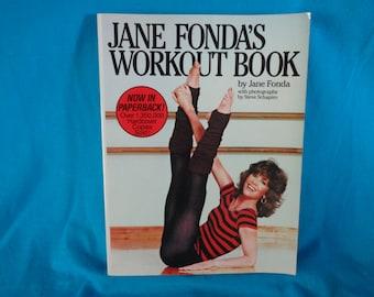 vintage 1981 Jane Fonda's Workout Book by Jane Fonda