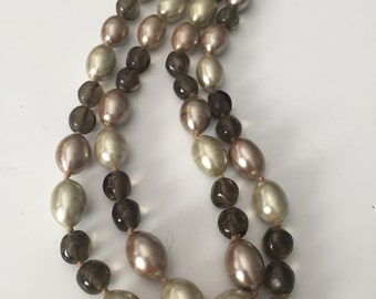 Vintage Alice Caviness Double Strand Necklace - VL Team