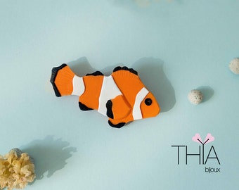 Clownfish Brooch