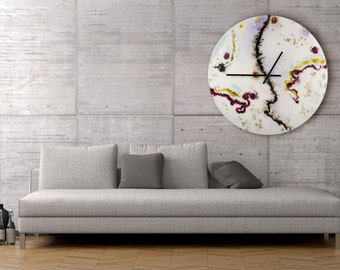 extra large wall clocks modern art oversized abstract art