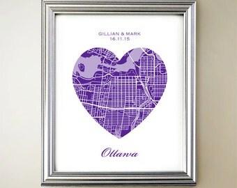 Ottawa Heart Map