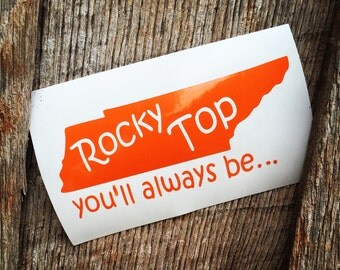 Rocky Top Decal
