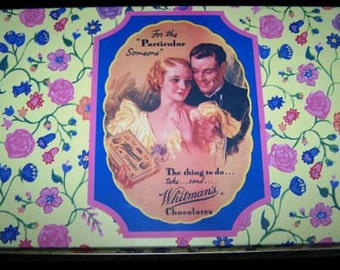 Whitman's Chocolate 150th Anniversary 1992 Limited Edition Collectible Tin