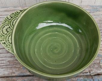 Pretty Handmade Pottery Bowl!