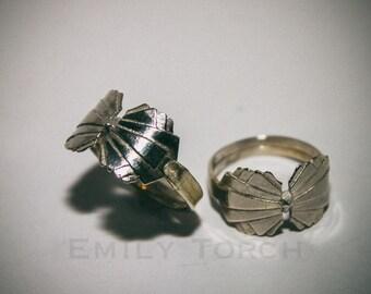 Men's Art Deco Rings in Sterling Silver