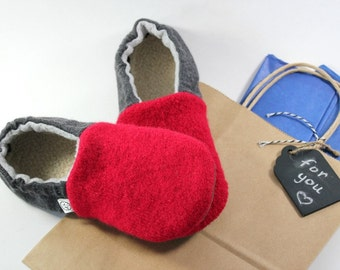 Gift for Kids- Kids Wool Slippers- Girl Gifts- Boy Gifts- Kids Pajamas- Cozy Gifts- Present for Young Boy- Last Minute Gift- Birthday Gift