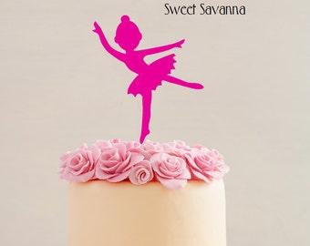 Ballerina Cake Topper MADE IN AUSTRALIA -