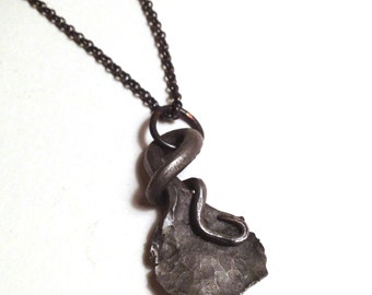Forged Steel Necklace