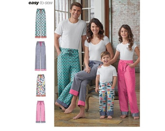 Simplicity Pattern 8179 Child's, Teens' and Adults' Pants