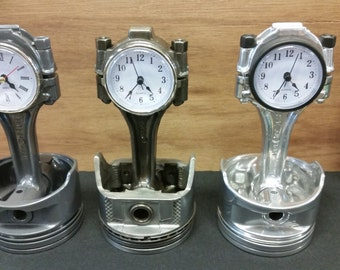 302 / 5.0 Small Block (SBF) Piston Clocks (different color options)