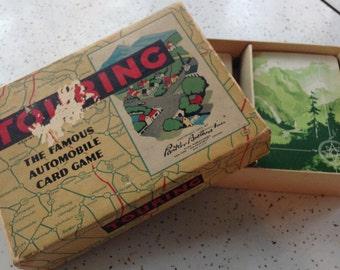 Vintage 1947 Parker Brothers Touring Game