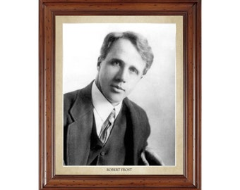 Robert Frost portrait; 16x20 print on premium heavy photo paper