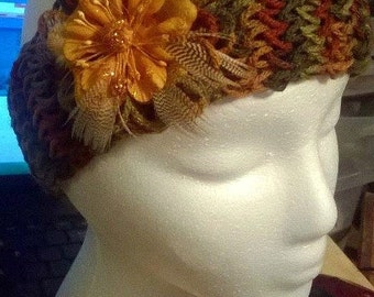 fall colored headband