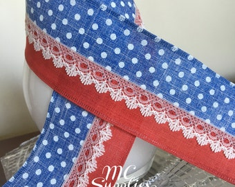 4th of July ribbon,flag ribbon,fabric ribbon,ribbon for bow,wired ribbon,ribbon by the yard,scrapbooking ribbon,embellish ribbon,161