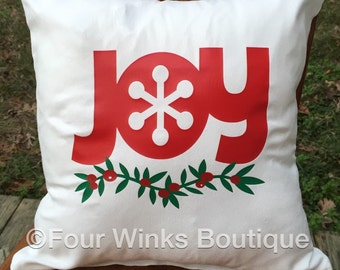 Holiday Decorative Pillow with inserts